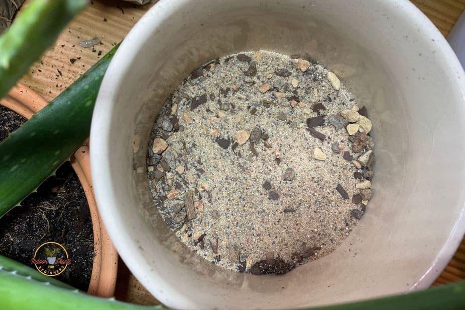 instructions for making potting soil for indoor plants